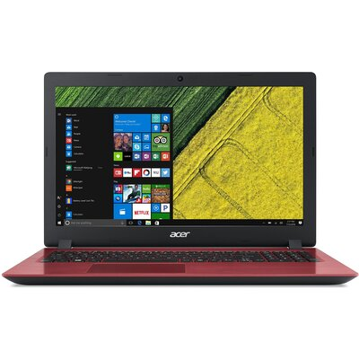 "Лаптоп Acer Aspire 3 A315-32-C15B - 15.6"" HD, Intel Celeron N4100, Oxidant Red"