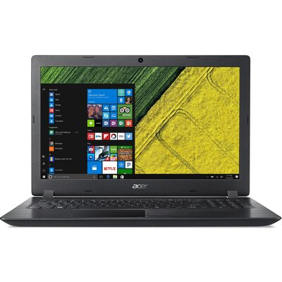"Лаптоп Acer Aspire 3 A315-32-C67C, 15.6"" HD, Intel Celeron N4100, Obsidian Black"
