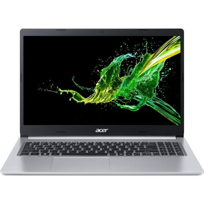 "Лаптоп Acer Aspire 5 A515-55-35M0 - 15.6"" FHD IPS, Intel Core i3-1005G1, Pure Silver"
