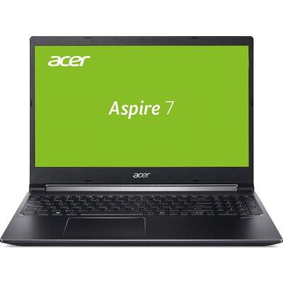"Лаптоп Acer Aspire 7 A715-74G-77FU - 15.6"" FHD, Intel Core i7-9750H"