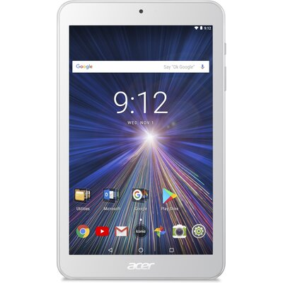 "Таблет Acer Iconia One 8 B1-870-K3F9 - 8"" WXGA (1280 x 800), 16 GB, White"
