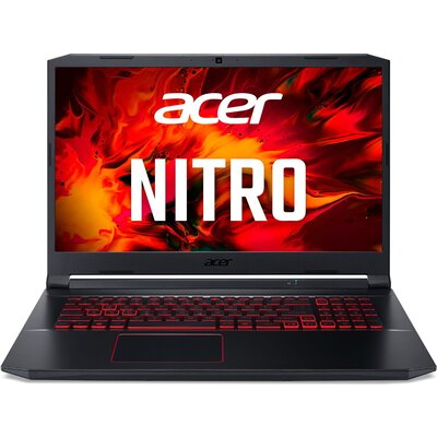 "Геймърски лаптоп Acer Nitro 5 AN517-52-76XD - 17.3"" FHD IPS 120Hz, Intel Core i7-10750H"