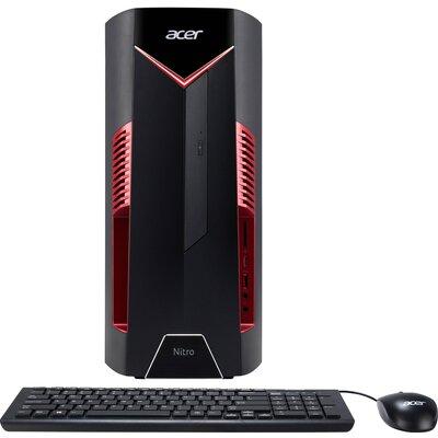 Геймърски компютър Acer Nitro N50-600 - Intel Core i5-9400F, 8GB
