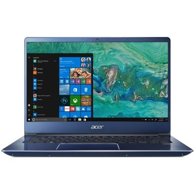 "Лаптоп Acer Swift 3 SF314-56G - 14"" FHD IPS, Intel Core i5-8265U, Stellar Blue"