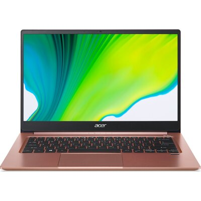 "Лаптоп Acer Swift 3 SF314-59-3628 - 14"" FHD IPS, Intel Core i3-1115G4, Melon Pink"