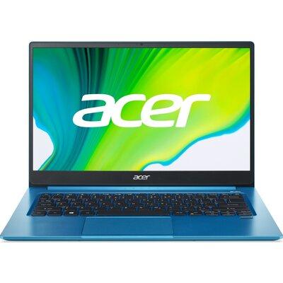 """Лаптоп Acer Swift 3 SF314-59-34DP - 14"""" FHD IPS, Intel Core i3-1115G4, Aqua Blue"""