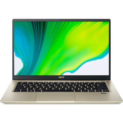 "Лаптоп Acer Swift 3X SF314-510G-538Y - 14"" FHD IPS, Intel Core i5-1135G7, Safari Gold"