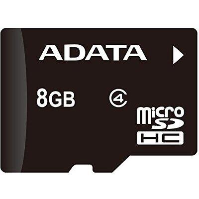 Micro SD карта ADATA 8 GB Class 4