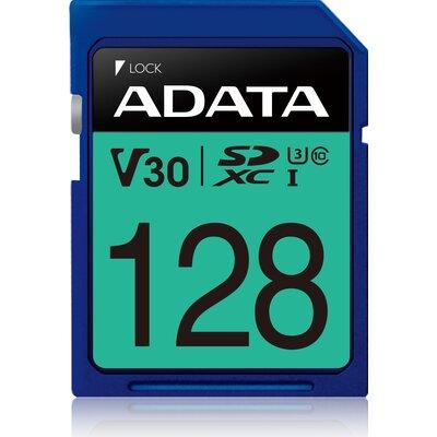 SDXC карта ADATA Premier Pro V30S UHS-I U3 128GB