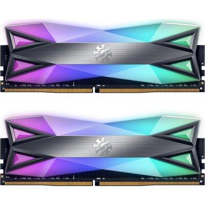 RAM ADATA XPG SPECTRIX D60G RGB 32GB (2x16GB) DDR4-3200, Tungsten Grey