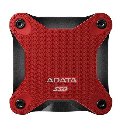 Преносим външен SSD ADATA SD600Q 480GB, Red