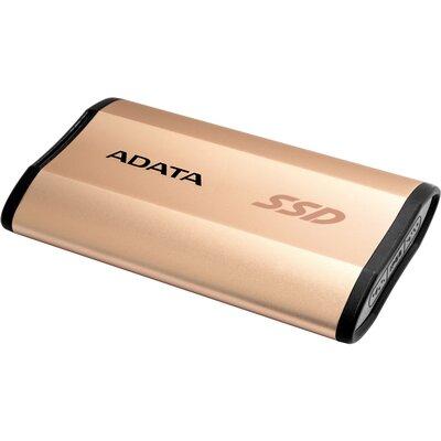 Преносим външен SSD ADATA SE730H 256GB Gold
