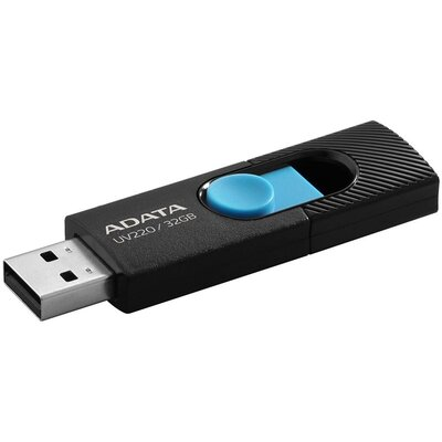 Флаш памет ADATA UV220 32GB - Black / Blue