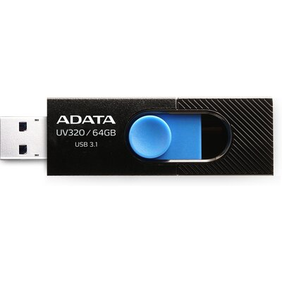Флаш памет ADATA UV320 64GB - черна