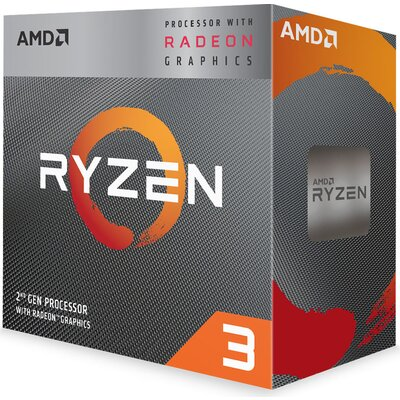 Процесор AMD Ryzen 3 3200G with Radeon Vega 8 Graphics