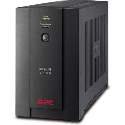 UPS APC Back-UPS BX1400U-GR - 1400VA, 230V, AVR, Schuko Sockets