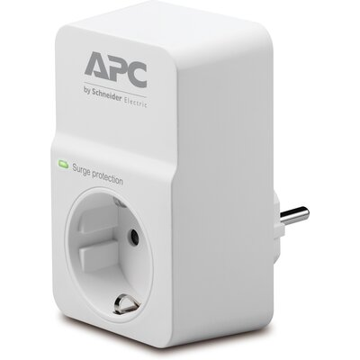APC Essential SurgeArrest, 1 outlet, 230V, Germany - PM1W-GR