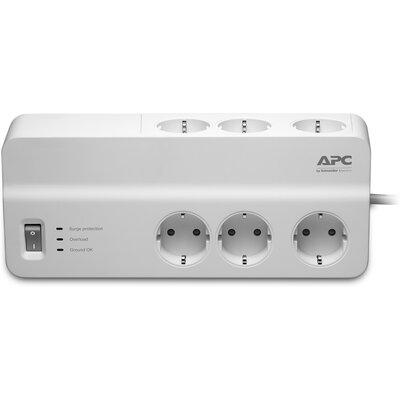 Разклонител със защита APC Essential SurgeArrest PM6-GR