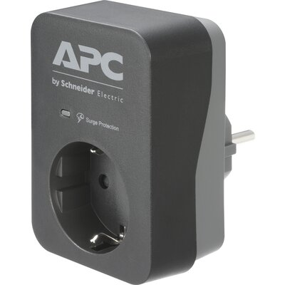 APC Essential SurgeArrest 1 Outlet Black 230V
