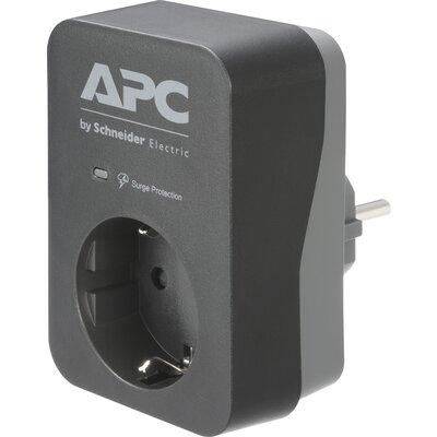 APC Essential SurgeArrest 1 Outlet Black 230V