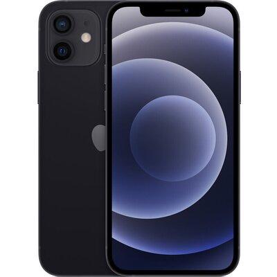 Телефон Apple iPhone 12 - 64GB Черно