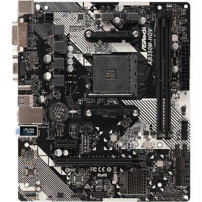 Дънна платка ASRock AB350M-HDV R4.0
