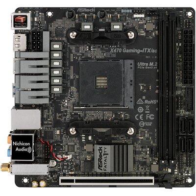 Дънна платка ASRock Fatal1ty X470 Gaming-ITX/ac