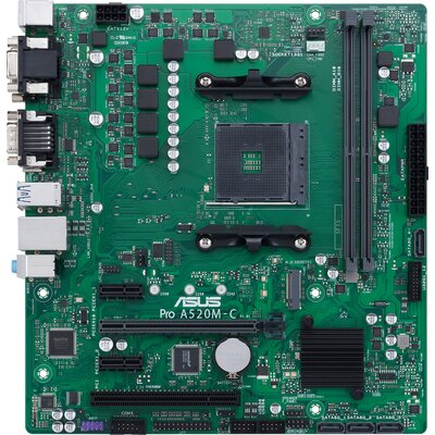 Дънна платка ASUS Pro A520M-C/CSM