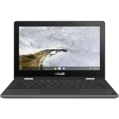 "Лаптоп ASUS Chromebook Flip C214MA-BU0486 - 11.6"" HD IPS Touch, Intel Celeron N4020"