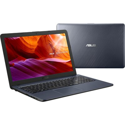 "Лаптоп ASUS X543UA-DM1469 - 15.6"" FHD, Intel Core i3-7020U, Grey"