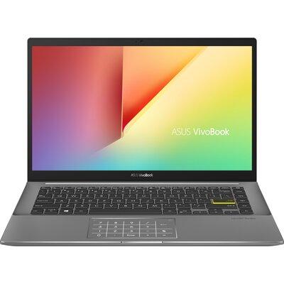 "Лаптоп ASUS VivoBook S14 M433UA-WB723T - 14"" FHD IPS, AMD Ryzen 7 5700U, Indie Black"