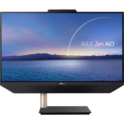 """Компютър ASUS Zen AiO 24 A5401WRAK-BA037T - 24"""" FHD IPS, Intel Core i5-10500T, 8GB RAM, 512GB SSD, Black"""