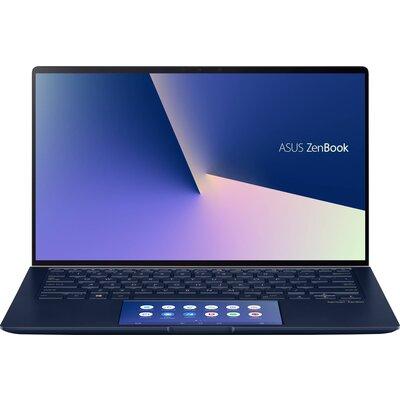 """Лаптоп ASUS ZenBook 14 UX434FQC-WB501T - 14"""" FHD, Intel Core i5-10210U, Royal Blue"""