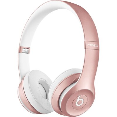 Bluetooth Слушалки Beats Solo2 Wireless - Rose Gold