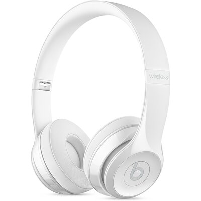 Bluetooth Слушалки Beats Solo3 Wireless - Gloss White