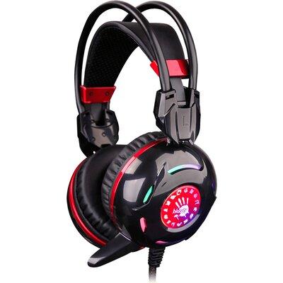 Геймърски слушалки Bloody G300, черни