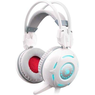 Геймърски слушалки Bloody G300, Бели