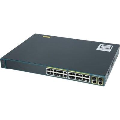 Суич Cisco Catalyst 2960-Plus 24PC-S PoE