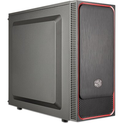 Кутия Cooler Master MasterBox E500L Red