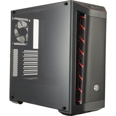 Кутия Cooler Master MasterBox MB511 Red
