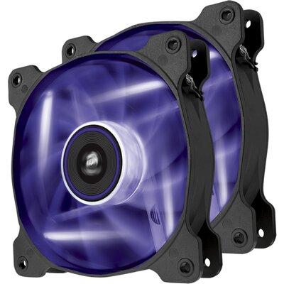 Вентилатор Corsair SP120 LED Purple High Static Pressure, Twin Pack
