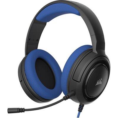 Геймърски слушалки с микрофон Corsair HS35 Stereo Gaming Headset — Blue