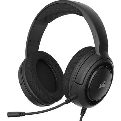 Геймърски слушалки с микрофон Corsair HS35 Stereo Gaming Headset — Carbon