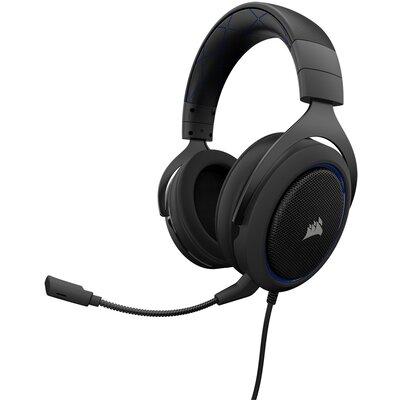 Геймърски слушалки Corsair HS50 PRO STEREO Gaming Headset Blue
