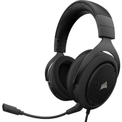 Геймърски слушалки Corsair HS50 PRO STEREO Gaming Headset Carbon