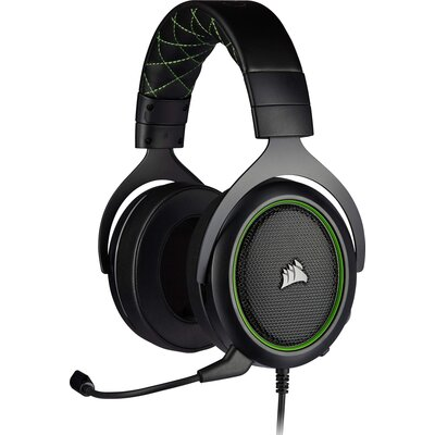 Геймърски слушалки Corsair HS50 PRO STEREO Gaming Headset Green