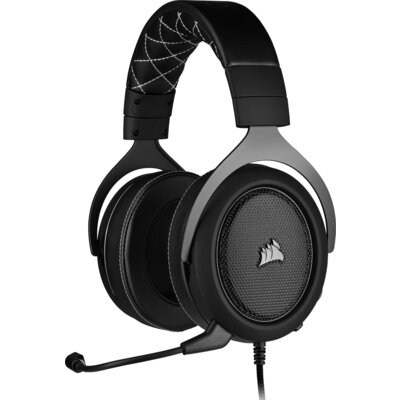 Геймърски слушалки Corsair HS60 PRO SURROUND Carbon