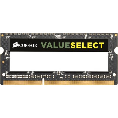 SO-DIMM RAM Corsair Value Select 4GB DDR3-1600