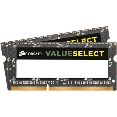 SO-DIMM RAM Corsair Value Select 16GB Kit (2 x 8GB) DDR3L-1600