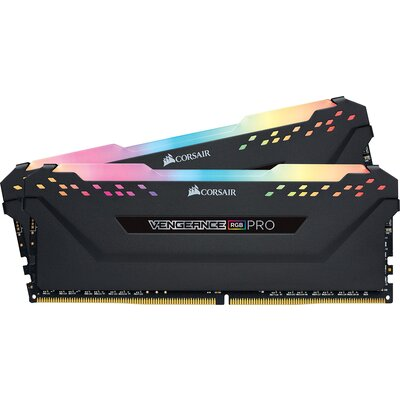 RAM Corsair VENGEANCE RGB PRO 16GB (2 x 8GB) DDR4-3200, Black